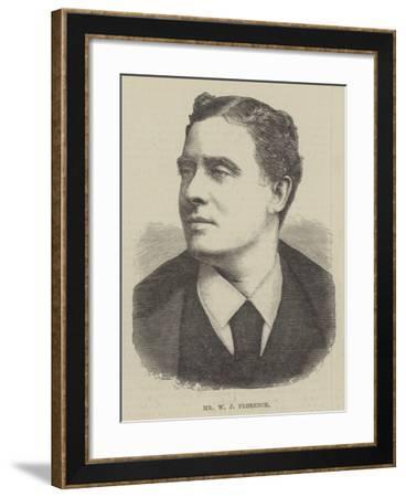 Mr W J Florence--Framed Giclee Print