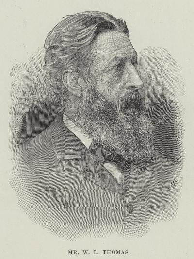 Mr W L Thomas--Giclee Print