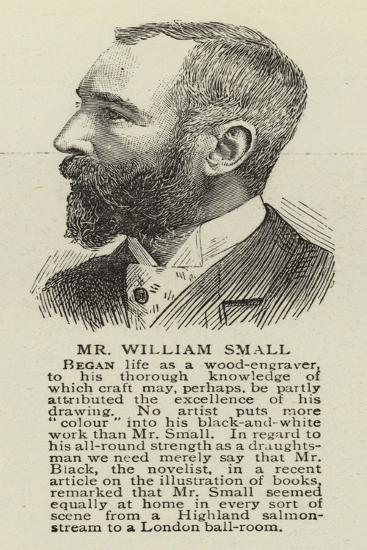 Mr William Small--Giclee Print