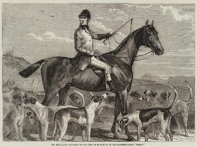 Mr Williamson, Huntsman to the Duke of Buccleuch, on His Favourite Horse Norman--Giclee Print