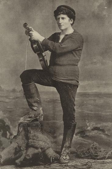 "Mr Wilson Barrett, as Pete in ""The Manxman""--Photographic Print"