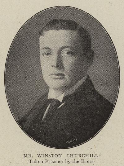 Mr Winston Churchill--Giclee Print