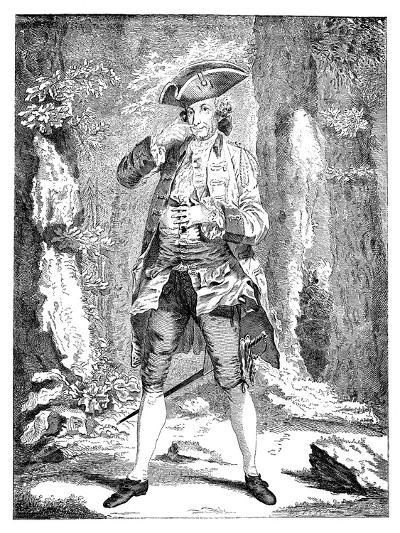 Mr Woodward in the Character of Mercutio, 1753--Giclee Print