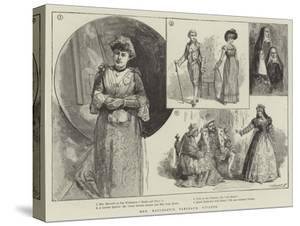 Mrs Bancroft's Tableaux Vivants