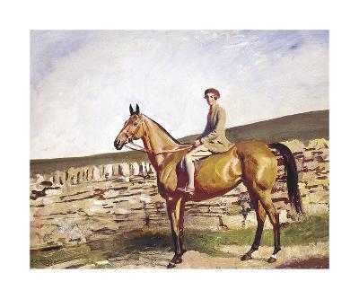 Mrs Bawden-Sir Alfred Munnings-Premium Giclee Print