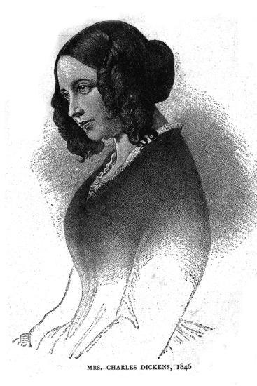 Mrs. Charles Dickens, 1846-Unknown-Giclee Print