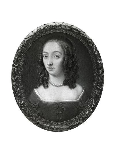 Mrs Claypole (Elizabeth Cromwel), Second Daughter of Oliver Cromwell, 17th Century-Samuel Cooper-Giclee Print
