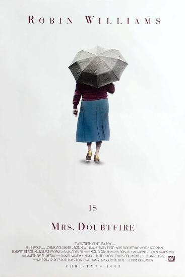Mrs. Doubtfire [1993], directed by CHRIS COLUMBUS.--Photographic Print