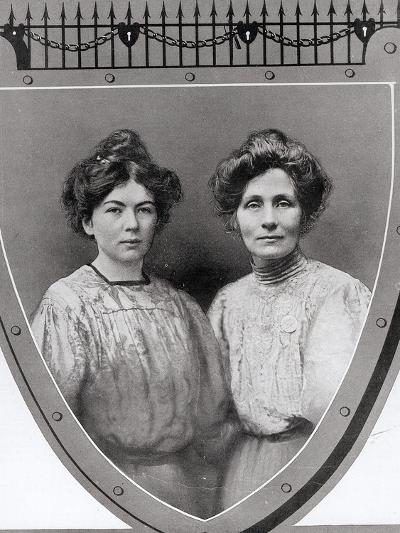 Mrs Emmeline Pankhurst--Photographic Print