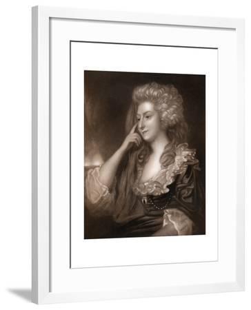 Mrs Fitzherbert, 1913-J Scott-Framed Giclee Print