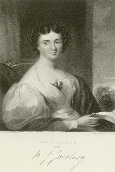 Mrs Fletcher--Giclee Print