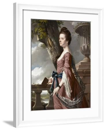 Mrs Frances Hesketh, C.1769-Joseph Wright of Derby-Framed Giclee Print