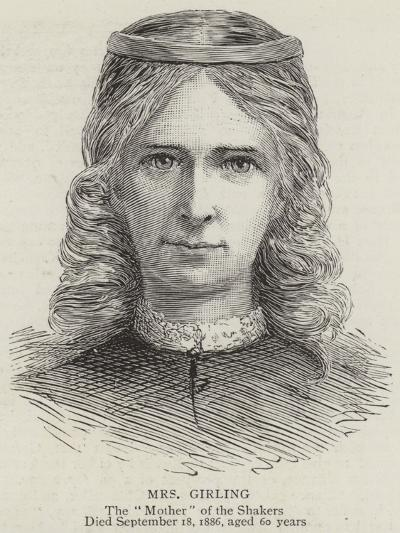 Mrs Girling--Giclee Print