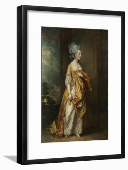 Mrs.Grace Dalrymple Elliott, 1778-Thomas Gainsborough-Framed Giclee Print