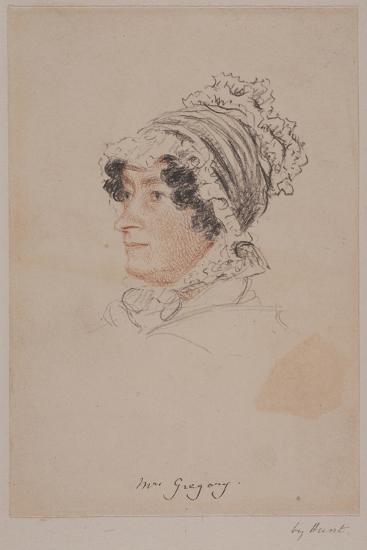 Mrs Hannah Gregory-William Henry Hunt-Giclee Print