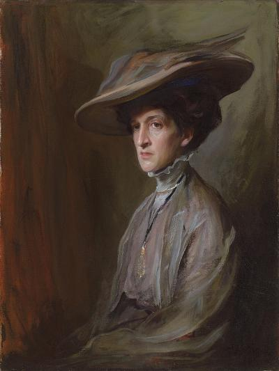 Mrs. Herbert Asquith, Later Countess of Oxford and Asquith, 1909-Philip Alexius De Laszlo-Giclee Print