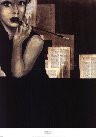 Mrs. Hollywood-Kc Haxton-Art Print