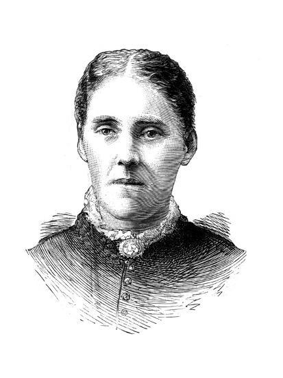 Mrs Houghton, Wife of Reverend John Houghton, 1886--Giclee Print