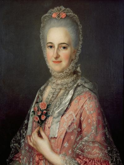Mrs Jane Huddleston (D.1772)-Jean-Marc Nattier-Giclee Print