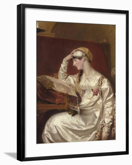 Mrs. Jens Wolff, 1803-15-Thomas Lawrence-Framed Giclee Print