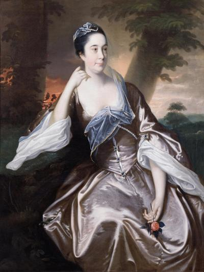 Mrs Lawrence Monck, 1760-Joseph Wright of Derby-Giclee Print