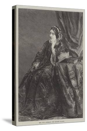 Mrs Lucy Anderson, the Eminent Pianist