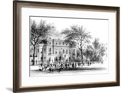 Mrs Montagu's House, Portman Square-Joseph Werner-Framed Giclee Print