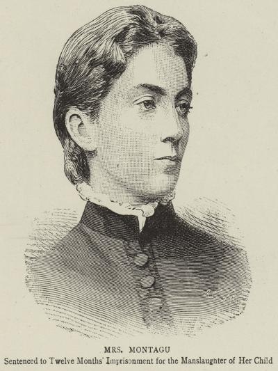 Mrs Montagu--Giclee Print