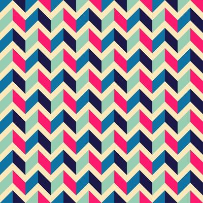 Seamless Geometric Pattern with Zigzags. Can Be Used in Textiles, for Book Design, Website Backgrou