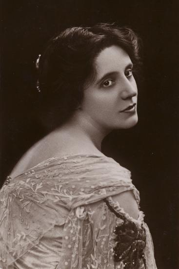 Mrs Patrick Campbell, English Stage Actress--Photographic Print