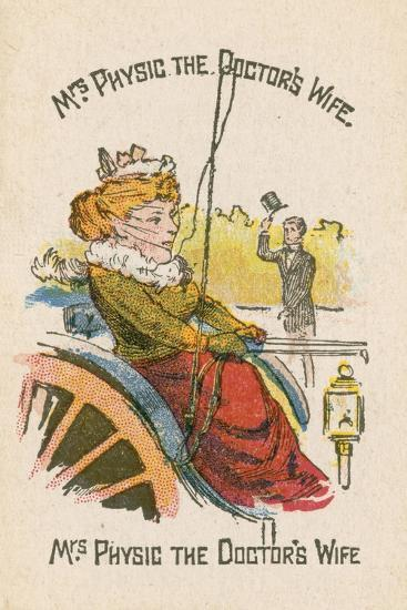 Mrs Physic the Doctor's Wife--Giclee Print