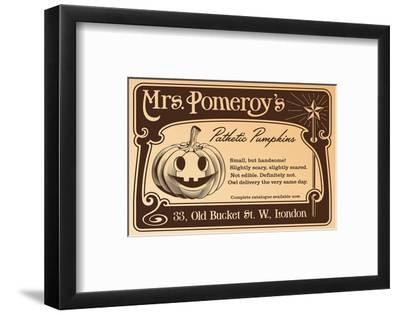 Mrs Pomeroy's Pathetic Pumpkins