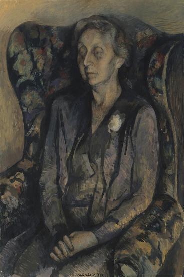 Mrs R.A. Gorer-Pavel Tchelitchew-Giclee Print