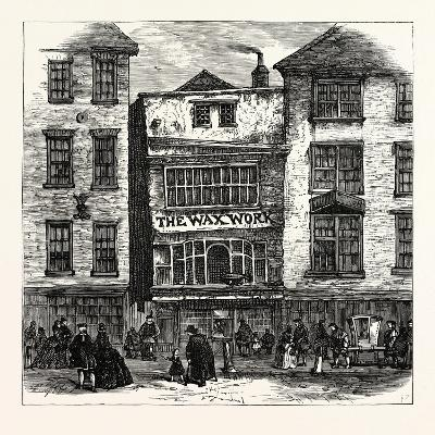 Mrs. Salmon's Waxwork Fleet Street: Palace of Henry Viii. and Cardinal Wolsey London--Giclee Print