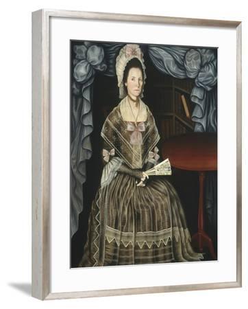 Mrs. Samuel Chandler, c.1780-Winthrop Chandler-Framed Giclee Print