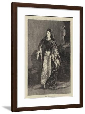 Mrs Scott Siddons--Framed Giclee Print
