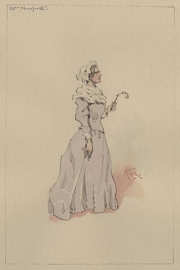Mrs Steerforth, C.1920s-Joseph Clayton Clarke-Giclee Print