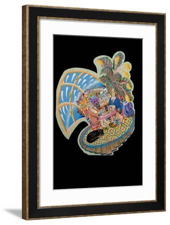Mrs T's B and B 1, 2010-Tony Todd-Framed Giclee Print