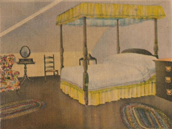 'Mrs. Washington's Bedroom', 1946-Unknown-Giclee Print