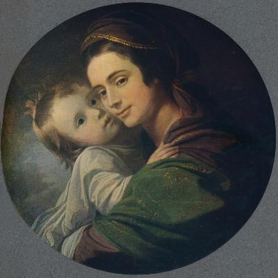 Mrs. West and Child, 1770-Benjamin West-Giclee Print