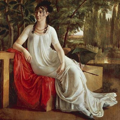 Mrs. Wilhelmine Von Cotta-Christian Gottlieb Schick-Giclee Print