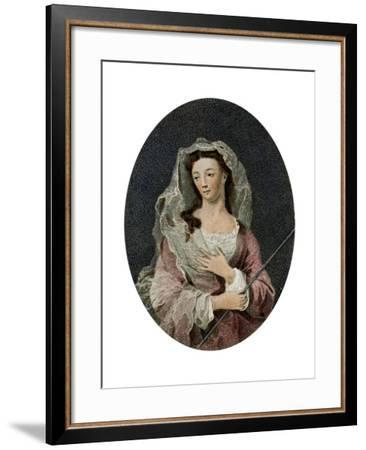 Mrs Woffington, 1795--Framed Giclee Print