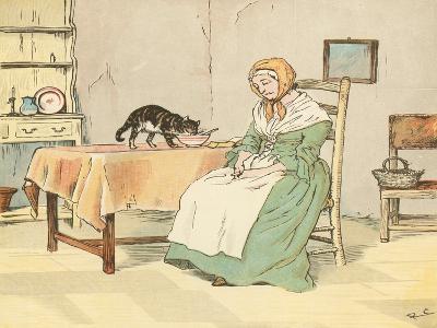 Mry Mary Blaize-Randolph Caldecott-Giclee Print