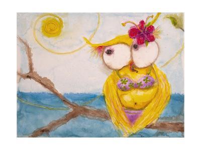 Ms. Hoo in Paradise-Marabeth Quin-Art Print