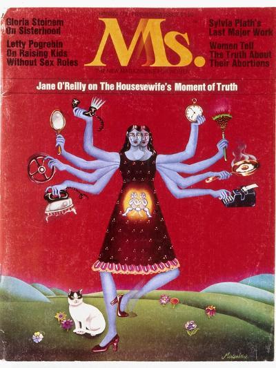 Ms. Magazine, 1972--Giclee Print