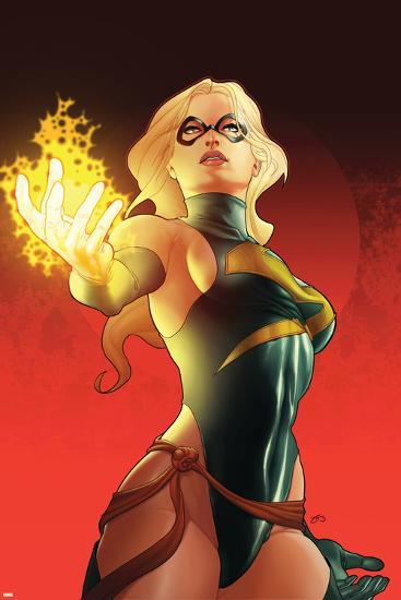 Ms. Marvel No.31 Cover: Ms. Marvel--Art Print