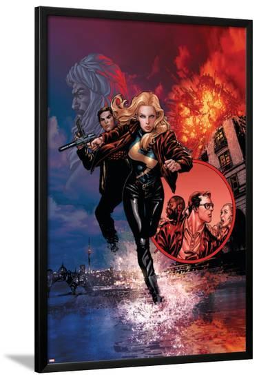 Ms. Marvel No.33 Cover: Ms. Marvel-David Yardin-Lamina Framed Poster