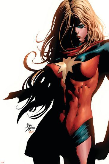 Ms. Marvel No.39 Cover: Ms. Marvel-Mike Deodato-Art Print
