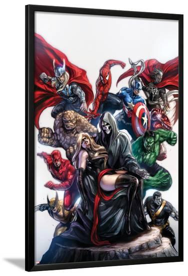 Ms. Marvel No.50 Cover: Ms. Marvel-Sana Takeda-Lamina Framed Poster