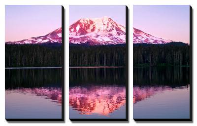 Mt. Adams Sunset-Douglas Taylor-Canvas Art Set
